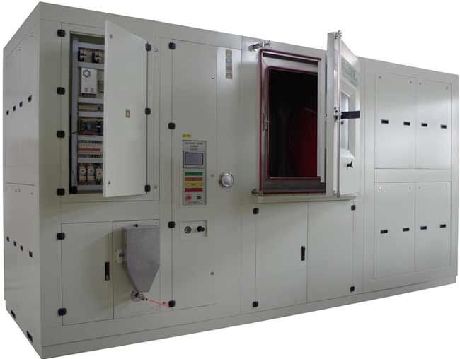 Blowing Sand Test Chamber / Laboratory Sand Test Equipment 7000 X 5000 X 2500mm